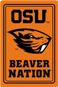 "COLLEGIATE Oregon State 12""x18"" Metal Sign"