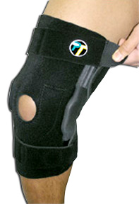 Tandem Sport Hinged Knee Wrap Brace