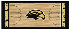 Fan Mats Southern Miss Basketball Court Runner