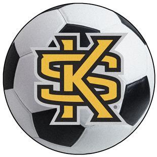 Fan Mats Kennesaw State University Soccer Ball Mat