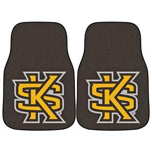 Fan Mats Kennesaw State Univ Carpet Car Mats (set)