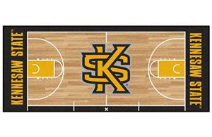 Fan Mats Kennesaw St. Univ Basketball Court Runner