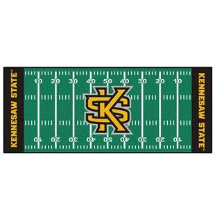 Fan Mats Kennesaw State Univ Football Field Runner