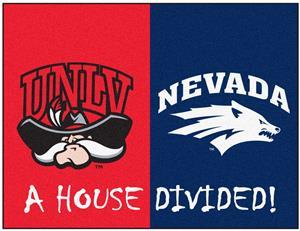 Fan Mats UNLV/Nevada House Divided Mat