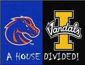 Fan Mats Boise State/Idaho House Divided Mat