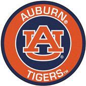Fan Mats Auburn University Roundel Mat