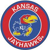 Fan Mats University of Kansas Roundel Mat