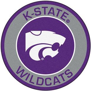 Fan Mats Kansas State University Roundel Mat