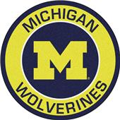 Fan Mats University of Michigan Roundel Mat