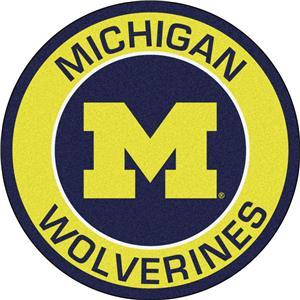 Fan Mats University of Michigan Roundel Mat