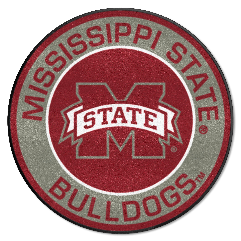 E109321 Fan Mats Mississippi State University Roundel Mat
