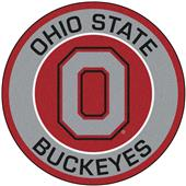 Fan Mats Ohio State University Roundel Mat