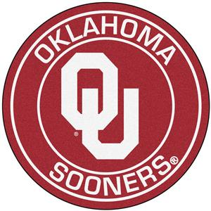 Fan Mats University of Oklahoma Roundel Mat