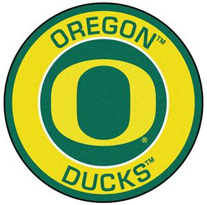 Fan Mats University of Oregon Roundel Mat