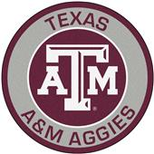 Fan Mats Texas A&M University Roundel Mat