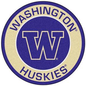 Fan Mats University of Washington Roundel Mat