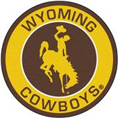 Fan Mats University of Wyoming Roundel Mat