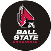 Fan Mats Ball State University Puck Mat