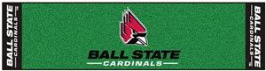 Fan Mats Ball State University Putting Green Mat