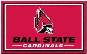 Fan Mats Ball State University 4x6 Rug