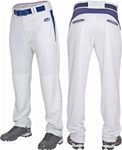 Rawlings Pleated Baseball Pant w/Accent Inserts