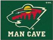 Fan Mats NHL Minnesota Wild Man Cave Tailgater Mat