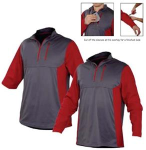 Rawlings Custom Baseball 1/4 Zip Fleece Pullover - Baseball ...