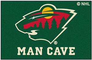 Fan Mats NHL Minnesota Wild Man Cave Starter Mat