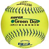 "Worth GSL Green Dot 11"" Slowpitch Softballs"