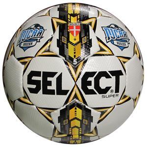 Select NJCAA Super FIFA Match Wht Soccer Ball 4PK