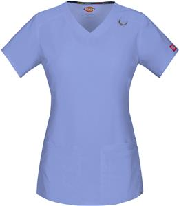 Dickies Women's V-Neck Scrub Tops