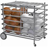Tandem Sport Double-Sided Locking Ball Cage Cart