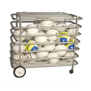 Tandem Sport Locking Ball Cage Equipment Cart