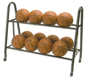 Tandem Sport Ultimate Basketball Ball Rack