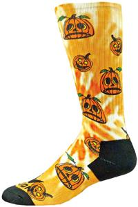 Red Lion Pumpkins Halloween Sublimated Crew Socks