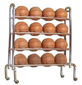 Tandem Sport 3 & 4 Tier Ball Racks
