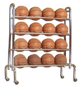 Tandem Sport 3 &amp; 4 Tier Ball Racks