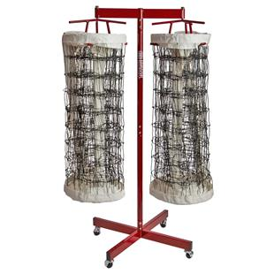 Tandem Sport Volleyball Double Net Storage Rack