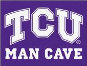 Fan Mats Texas Christian Man Cave All-Star Mat