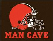 Fan Mats Cleveland Browns Man Cave All-Star Mat