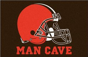 Fan Mats NFL Cleveland Browns Man Cave Starter Mat