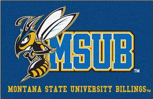 Fan Mats Montana State University Starter Mat