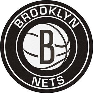 Fan Mats NBA Brooklyn Nets Roundel Mat
