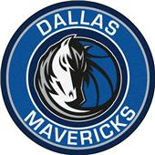 Fan Mats NBA Dallas Mavericks Roundel Mat