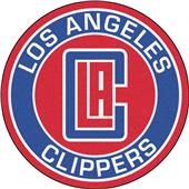 Fan Mats NBA Los Angeles Clippers Roundel Mat