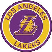 Fan Mats NBA Los Angeles Lakers Roundel Mat