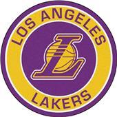 Fan Mats NBA Los Angeles Lakers Roundel Mat
