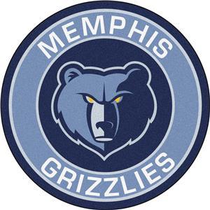Fan Mats NBA Memphis Grizzlies Roundel Mat