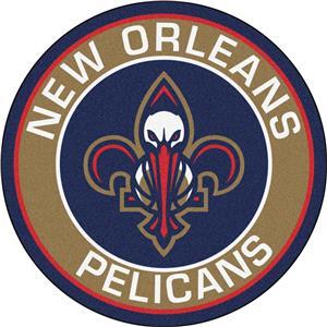 Fan Mats NBA New Orleans Pelicans Roundel Mat