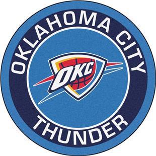 Fan Mats NBA Oklahoma City Thunder Roundel Mat
